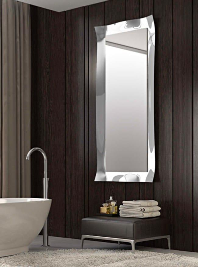 Viva specchio rettangolare collezione viva by riflessi - Specchi bagno milano ...