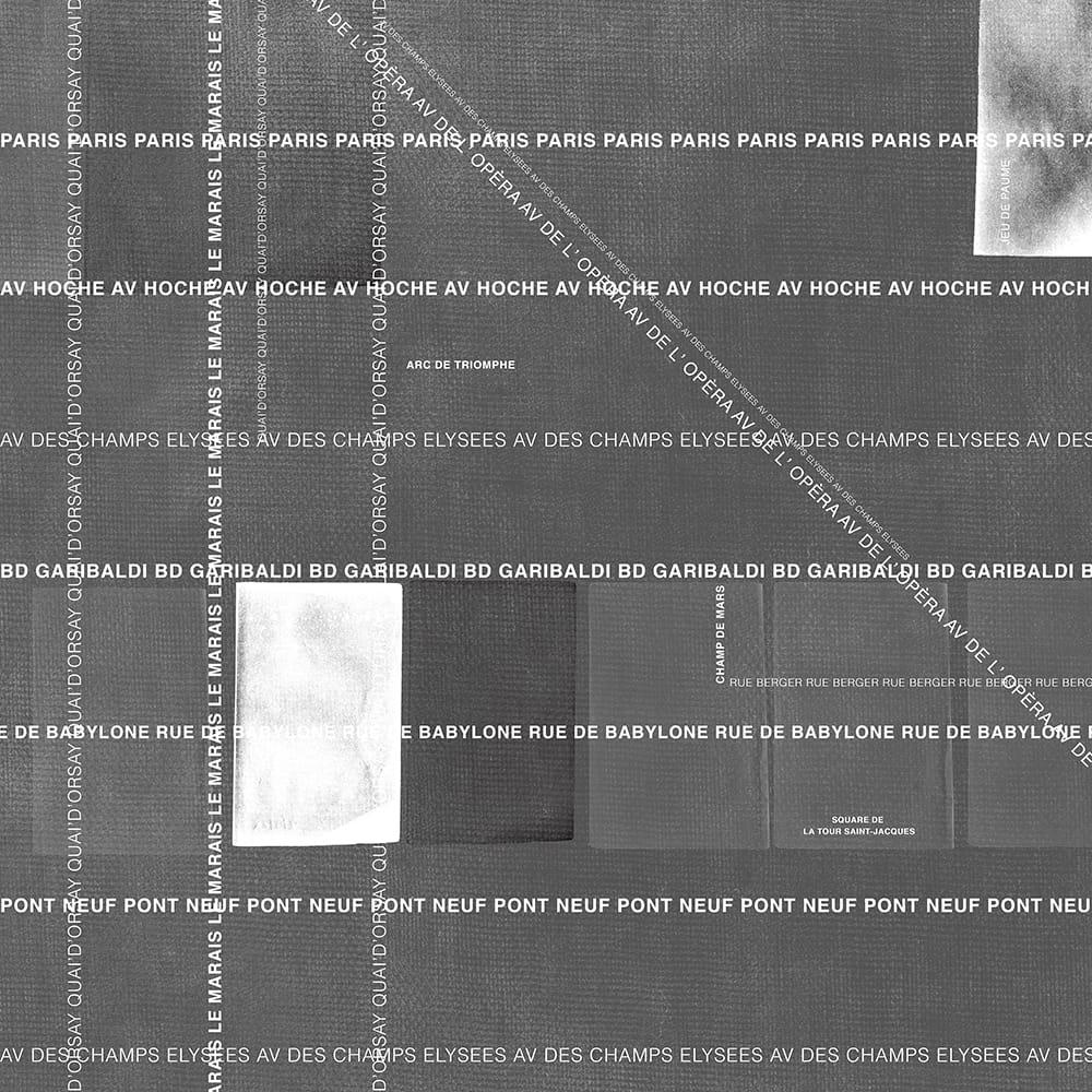 Adriani E Rossi Carta Da Parati carta da parati in vinile con scritte wase collezione black