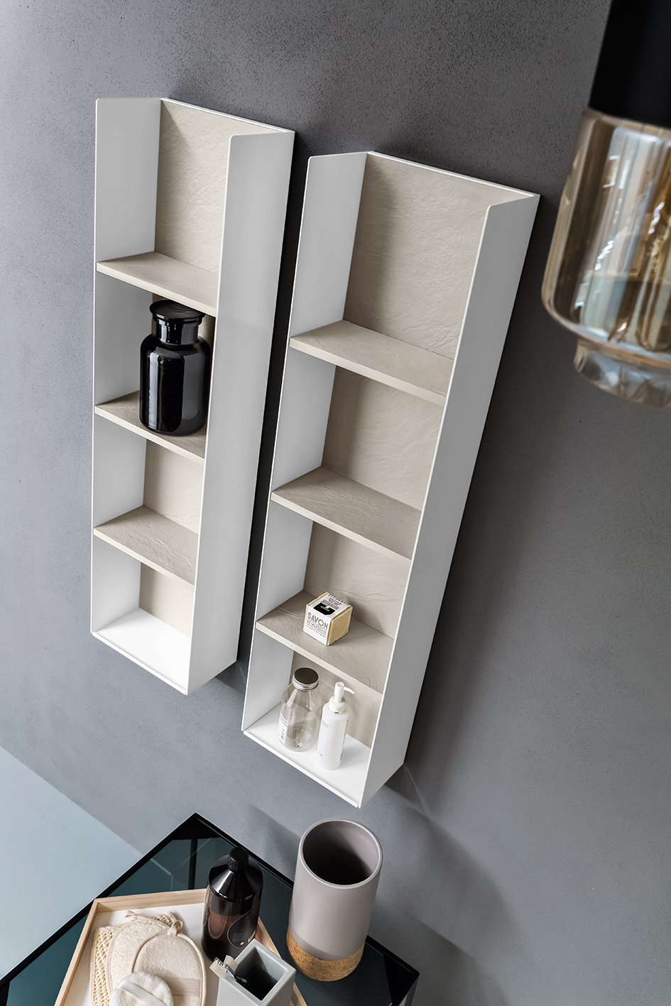 well comp.2 | arredo bagno completo collezione pietrablu by arblu - Arblu Arredo Bagno