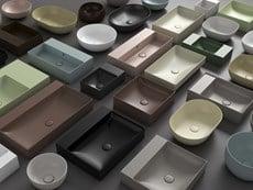 Bagno di Colore di Ceramica Globo