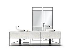 L'iconico sistema MA/U Studio in versione bagno
