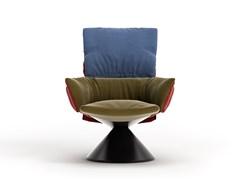 LUD'O LOUNGE | Metal armchair