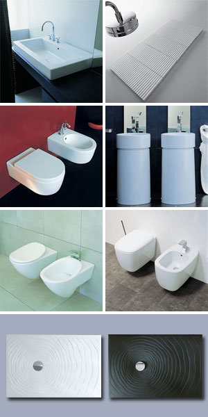 CERAMICA FLAMINIA - Sanitari e Arredo bagno stile moderno | Edilportale