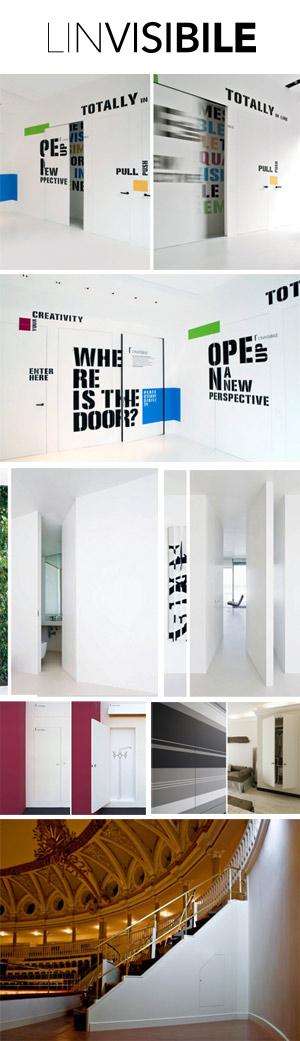 LINVISIBILE by Portarredo - Porte per interni a filo muro | Edilportale