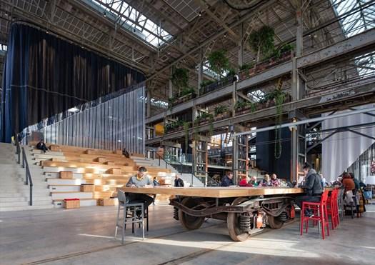Mecanoo completa la Biblioteca del LocHal - image h_68046_01 on http://www.designedoo.it
