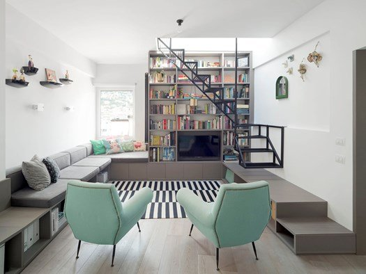 Houzz a Parigi: Può un Appartamento di 18mq Diventare Funzionale? (14 photos) - image h_72223_02 on http://www.designedoo.it