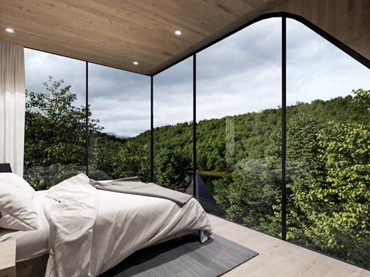 Negli Stati Uniti le Tree Houses di Peter Pichler - image h_73405_01 on http://www.designedoo.it