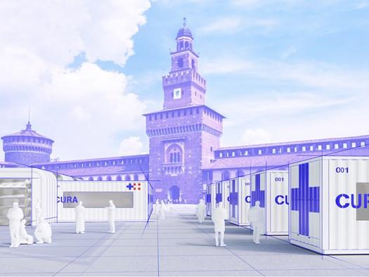 Container riconvertiti in terapie intensive. A Milano il primo prototipo - image h_75631_01 on http://www.designedoo.it