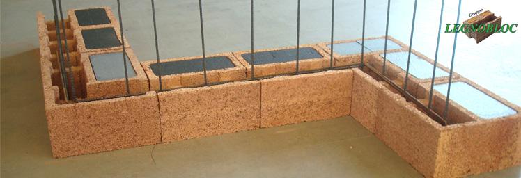 Blocchi Cemento Legno.Blocco Cassero In Legno Cemento Per Strutture E Tamponature