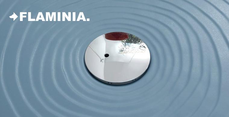 Piatti Doccia Ceramica Flaminia.Piatti Doccia Antiscivolo Ceramica Flaminia Nuove Misure