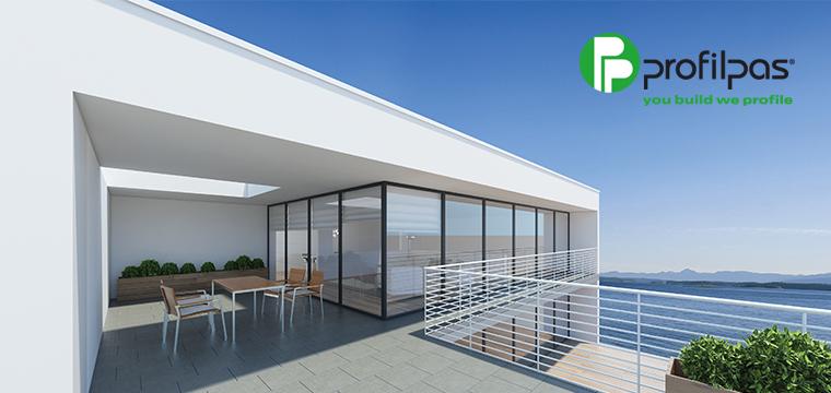 Arreda e proteggi balconi e terrazze con i profili Profilpas