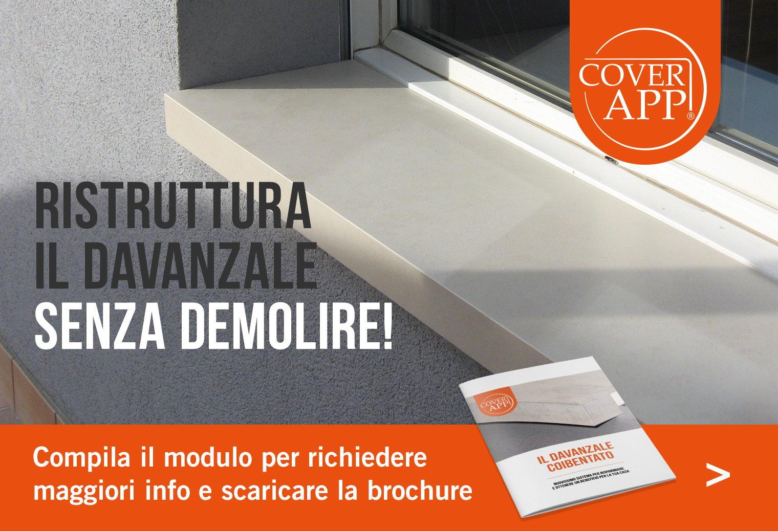 Davanzale Interno Della Finestra davanzale coibentato: zero ponti termici con cover app