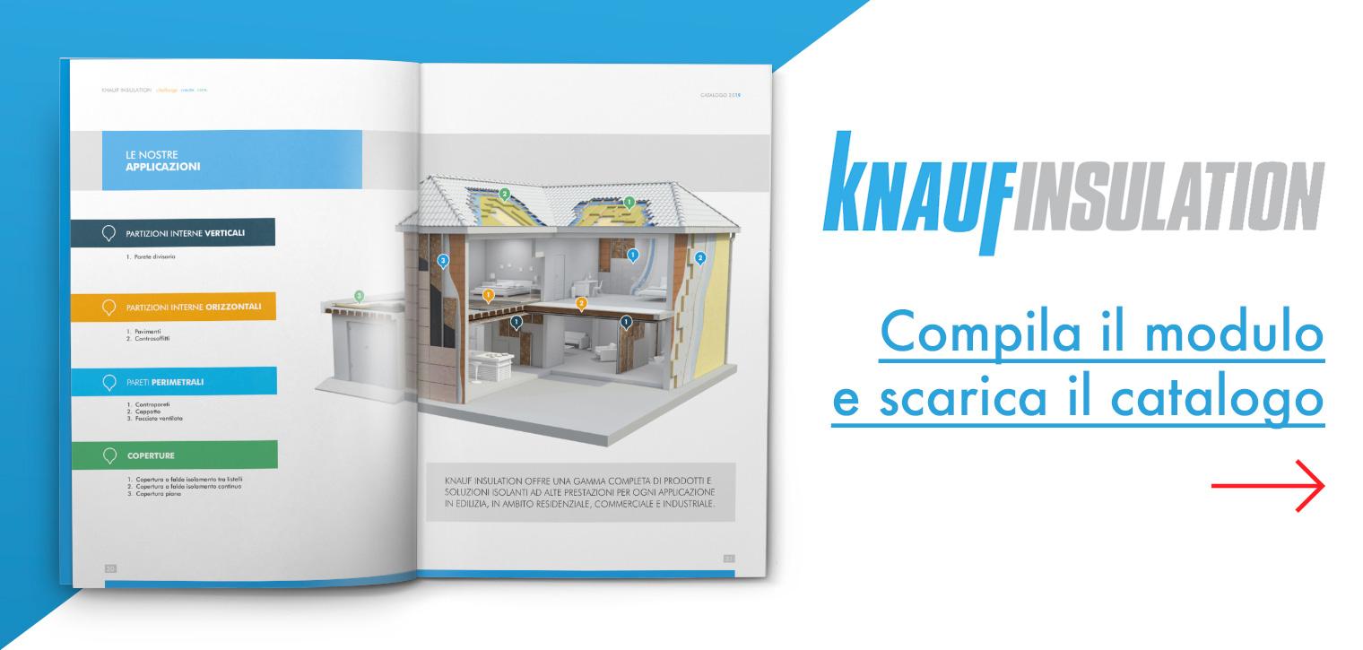 Isolare Parete Interna A Nord nuovo catalogo knauf insulation: scopri le soluzioni adatte