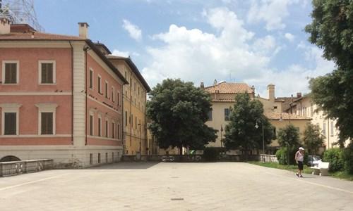 Piazza Giacomo Matteotti a Foligno