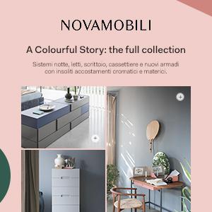 Nuovi arredi e sistemi notte by Novamobili