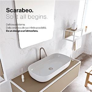 Dal mini al maxi lavabo: Scarabeo Ceramiche presenta GLAM