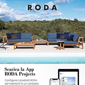 Configura il tuo outdoor con la nuova APP e il Catalogo RODA