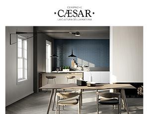 Evood di Ceramiche Caesar si ispira alle lavorazioni industriali del rovere