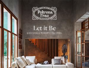 Let it be: il divano modulare di Poltrona Frau