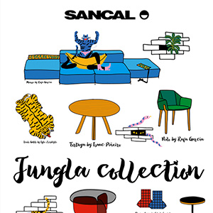 Jungla collection by Sancal, 2018
