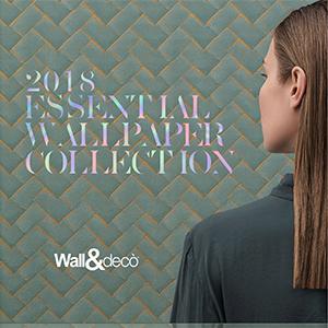 Wall&decò: la nuova Essential Wallpaper collection 2018