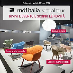 MDF Italia al Salone del mobile.Milano 2018. Scopri lo stand a 360°!