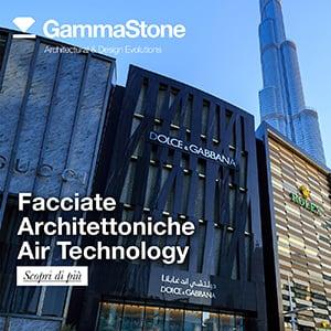 Facciate architettoniche air technology by Gammastone