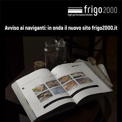 Online il nuovo sito di Frigo2000: visita ora