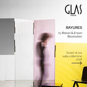 L'innovazione del vetro: collezione Glas Italia 2018
