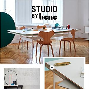 Scrivania e tavolo riunioni Studio by BENE