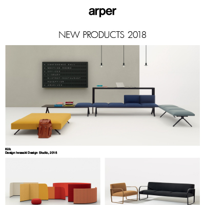 Nuove collezioni Arper 2018