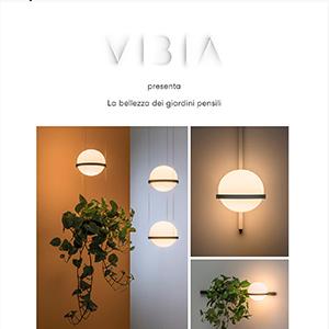Luce calda che invade gli interni: Palma by Vibia