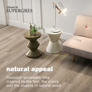 Gres porcellanato ispirato al legno naturale di Ceramiche Supergres