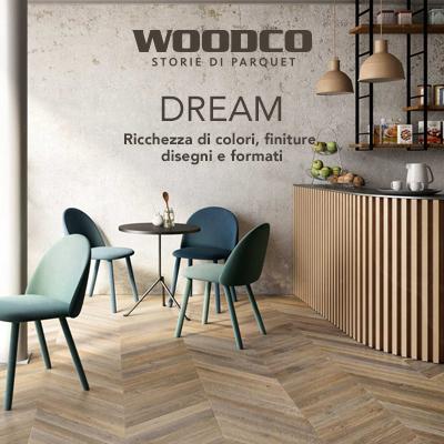 Parquet Woodco in Rovere di Slavonia: collezione Dream