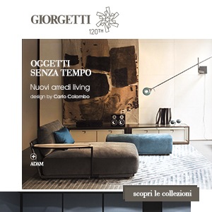 Nuovi arredi living by Giorgetti