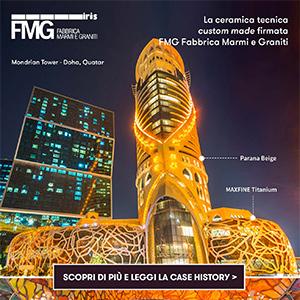 La ceramica tecnica FMG veste il Mondrian Doha: leggi la case history