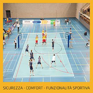 Pavimenti sportivi Sika, sicurezza ed estetica indoor o outdoor