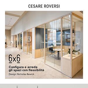 Infinite combinazioni di arredi e divisori con il sistema 6x6 by Cesare Roversi