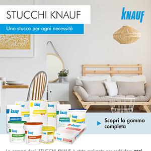 Stucchi Knauf, uno stucco per ogni necessità