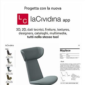 App laCividina: collezioni e configurazioni a portata di mano