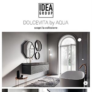 Arredo bagno Ideagroup, un mix di estetica e innovazione: Dolcevita by Aqua