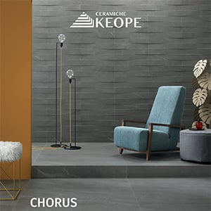Chorus: il potere espressivo della pietra secondo Ceramiche Keope