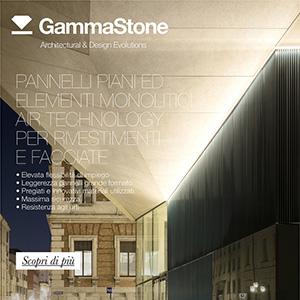 Facciate ventilate con pannelli di grandi dimensioni GammaStone
