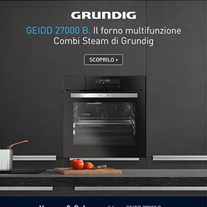 Forno Grundig multifunzione con cottura a vapore