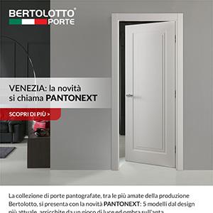 Porte pantografate Bertolotto: Pantonext collezione Venezia