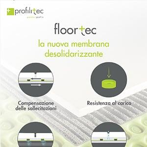 Membrana desolidarizzante per pavimenti Floortec