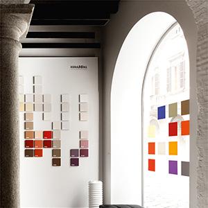 Showroom Kerakoll a Milano. Scopri le pitture ecologiche firmate Piero Lissoni