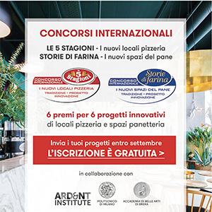 Nuovi concorsi Locali Pizzeria e Spazi per il Pane - invia il tuo progetto