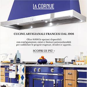 Cucine artigianali La Cornue: oltre 8000 configurazioni
