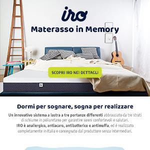 Materasso in memory IRO: realizza i tuoi sogni